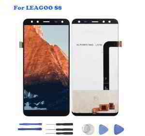 Pour Leagoo S8 Écran Tactile LCD Afficher Assemblée Digitizer Replacement Noir • EUR 32,32