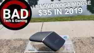 Lenovo yoga mouse test
