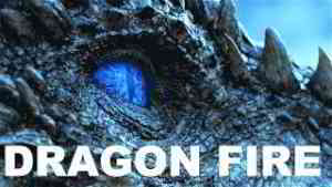 DRAGON FIRE - Drogon, Viserion & Rhaegal (Game of Thrones Dragons)