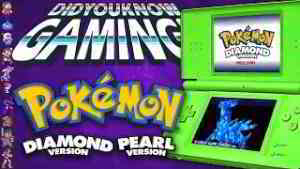 Pokemon Diamond and Pearl - Did You Know Gaming? Feat. Remix (Nintendo DS)