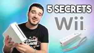 5 SECRETS CACHÉS SUR LA WII!