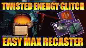 DESTINY 2 | NEW UNLIMITED TWISTED ENERGY GLITCH! - LEVEL UP PRISMATIC RECASTER INSTANTLY!!!