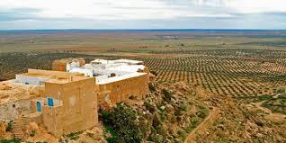 Zriba olia , takrouna , temple des eaux