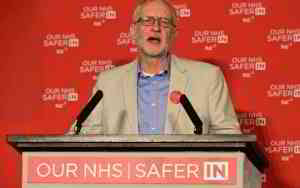 Jeremy Corbyn is too late to save the NHS: it has already been sold off under the EU