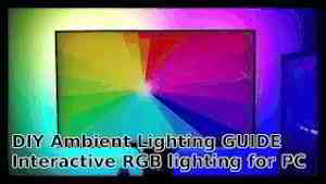 DIY $50 Ambient Lighting for PC | Full Guide | Addressable RGB