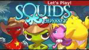 Squids odyssey gameplay