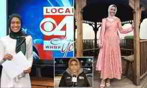 Muslim woman, 27, becomes America's first hijabi TV reporter