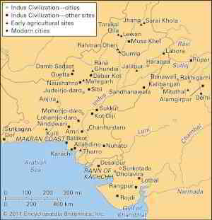 Indus civilization | History, Location, Map, Art, & Facts