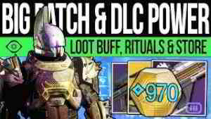 Destiny 2 | NEW POWER LEVEL & DLC ECONOMY! Exotic Item, Ritual Weapons, Loot BUFF, Eververse & More