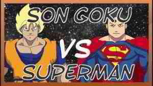 GOKU vs SUPERMAN -Version Logique