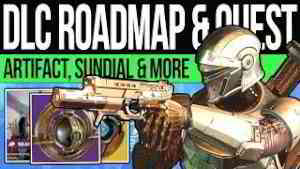 Destiny 2 | NEW DLC ROADMAP! Exotic QUESTS! Sundial Bosses, Lantern Artifact, The Dawning & Story!