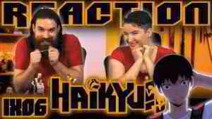 """Haikyuu 1x6 REACTION!! """"An Interesting Team"""""""