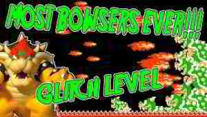 MOST BOWSERS EVER! | Super Mario Maker GLITCH Level | Living City by PSYCROW
