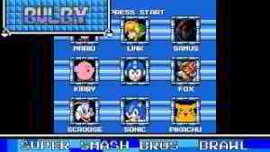 Super Smash Bros. Brawl Theme 8 Bit Remix