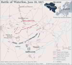 Battle of Waterloo | Combatants, Maps, & Facts | Britannica